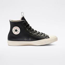 Scarpe Alte Converse Chuck Taylor All Star Desert Storm Leather Uomo Nere | 344KZMPT